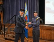 Presentation to WO Hathaway