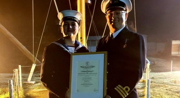 Nott Sea Cadet Humane Award   website