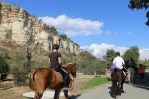 Photo of Derbyshire ACF pony trekking in Cyprus