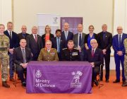 Representatives of the nine East Midlands universities