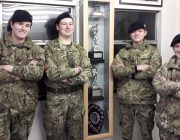 Bourne Cadets who applied first aid