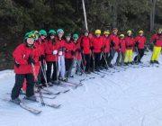 cadet ski trip photo