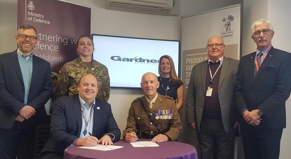 Gardner Aerospace signing