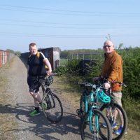 Nelson family bike ride