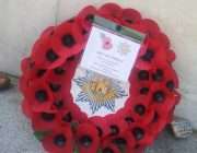 Wreath laid at Grimsby War Memorial