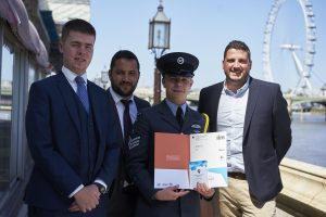 Air Cadet Hunter at House Of Lords