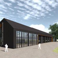 Visual of new garages at Sobraon