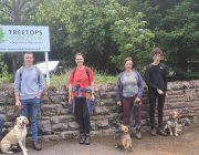 Derbyshire Cadets on their walk for hospices