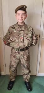 Cadet Adrian Robson