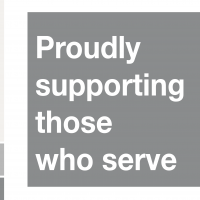 Silver ERS logo - Proudly supporting those who serve