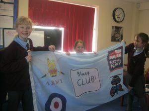 Bluey Club flag