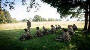Reserves training at a social distance9 of 340)