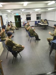 Cadets return to training