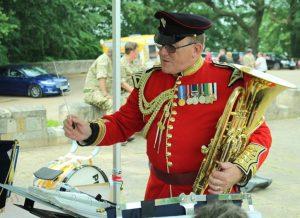 Lieutenant Peter Ward ACF Bandmaster Derbyshire ACF