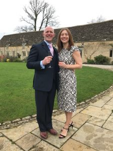 Lt Col Rob Futter and wife Susannah