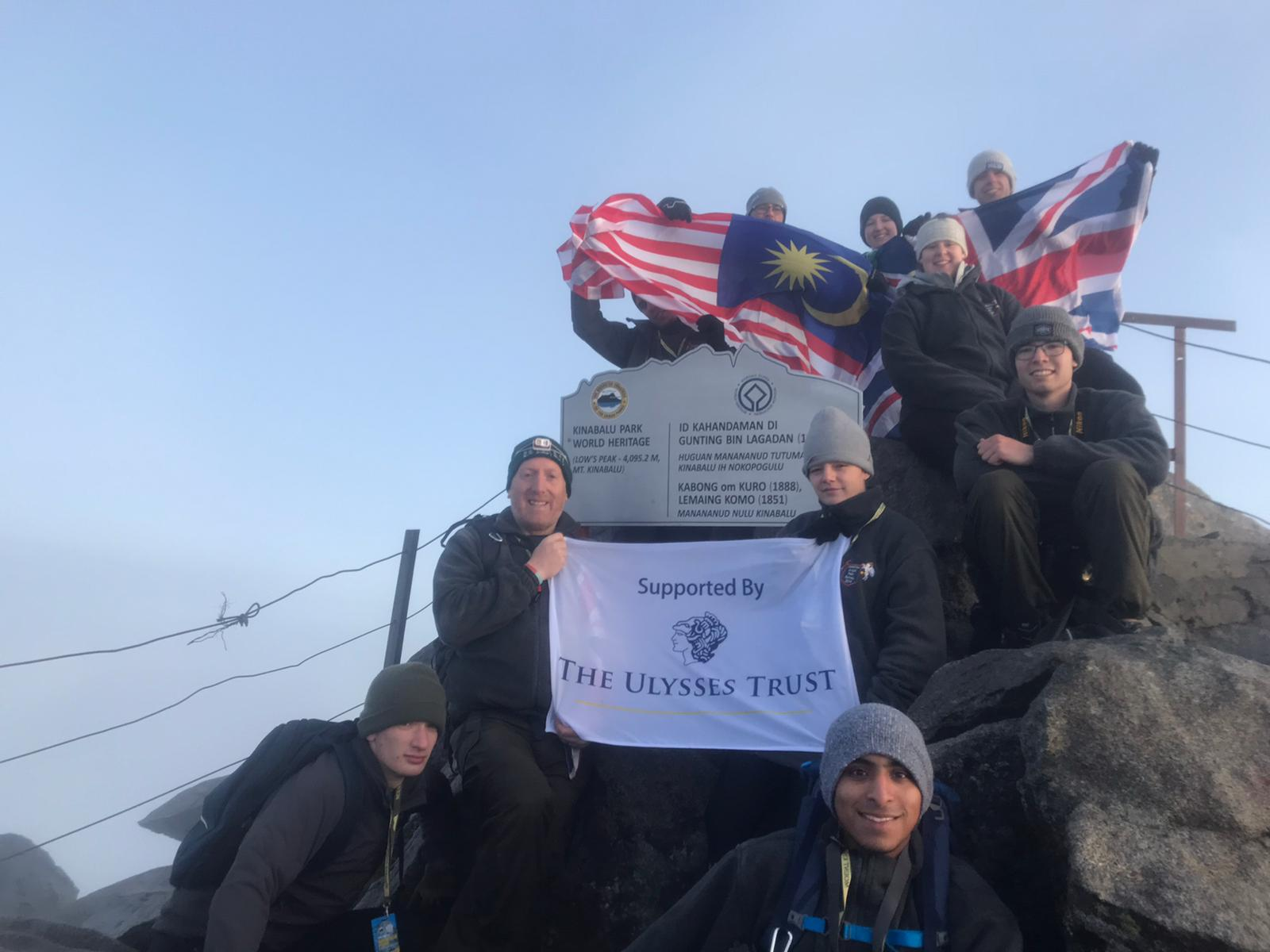 A cadet expedition sponsored by the Ulysses Trust