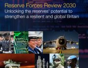 Front page of Reserve Forces Review 2030