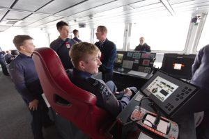 cadets visit of HMS Diamond